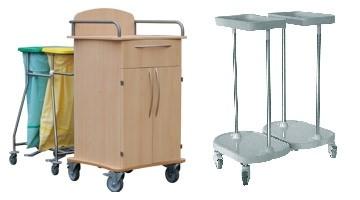 Abfall- und Wäschesammler