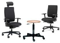 Bürodreh- und Besucherstühle