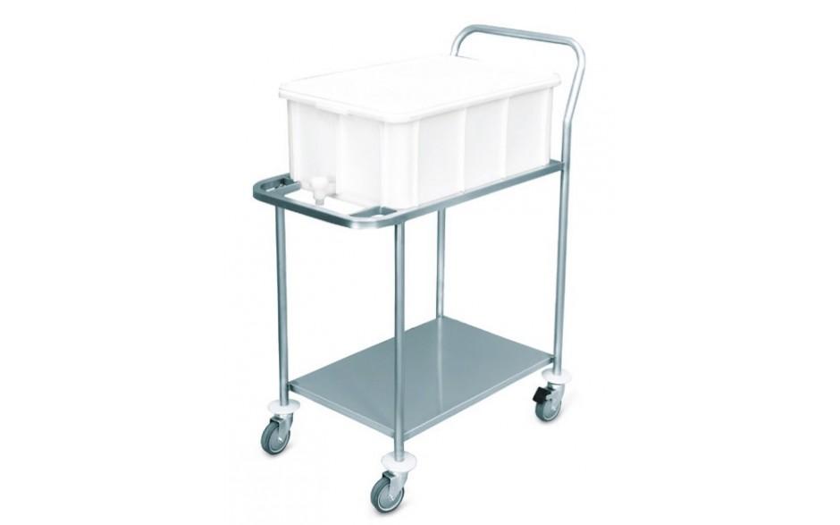 Transportwagen Dekontaminierungsbehälter aus Polyethylen