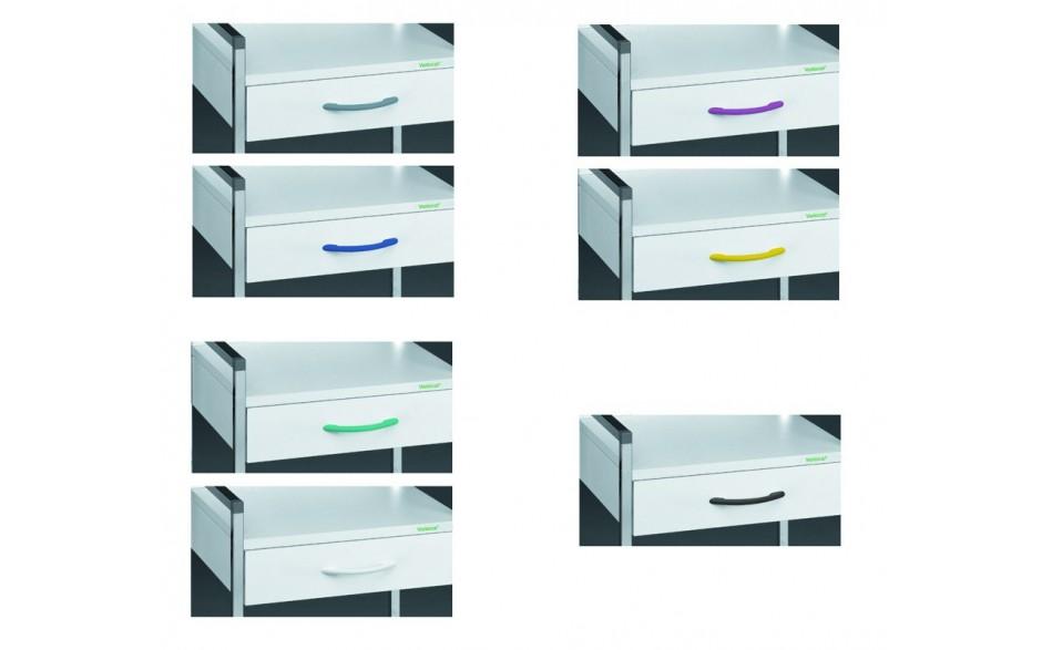 Farbdesign Schubladengriffe Variocar