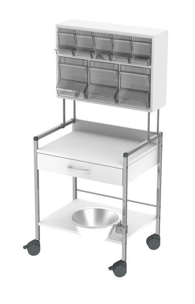 Varioncar® 60 Behandlungswagen PicBox® multi