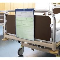 Dekubitus-Lagerungstafel mit Bettklemmhalterung