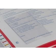 Scheckkartenfach für Dokumentationstaschen