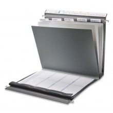 3-Deckel-Dokumentationsmappe mit Laschen